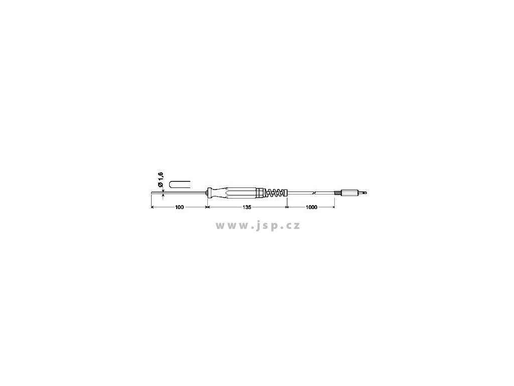 Greisinger GTF 175/1.6 Ponorný snímač pro kapaliny a plyny
