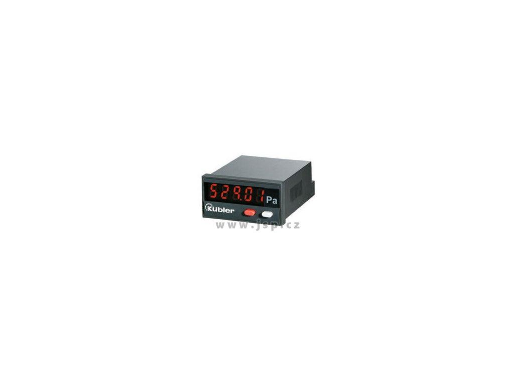Kübler Codix 529 Procesní displej pro okamžité zobrazení analogových signálů v požadovaných jednotkách