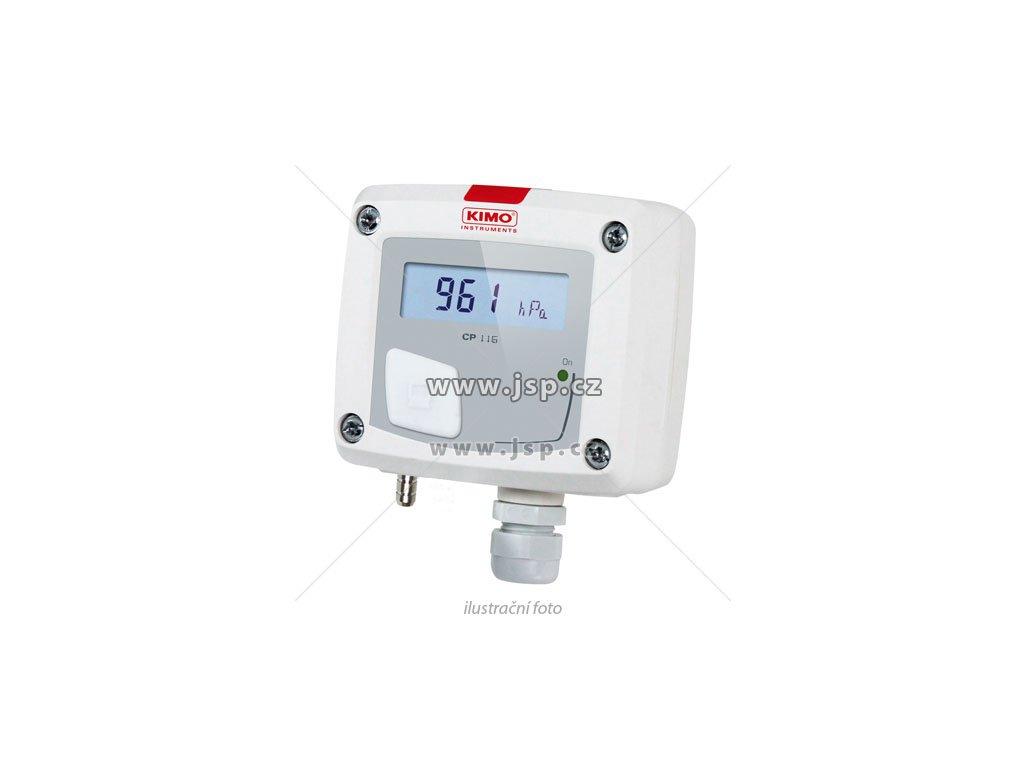 KIMO CP116-AO Převodník atmosférického tlaku s aktivním výstupem s displejem