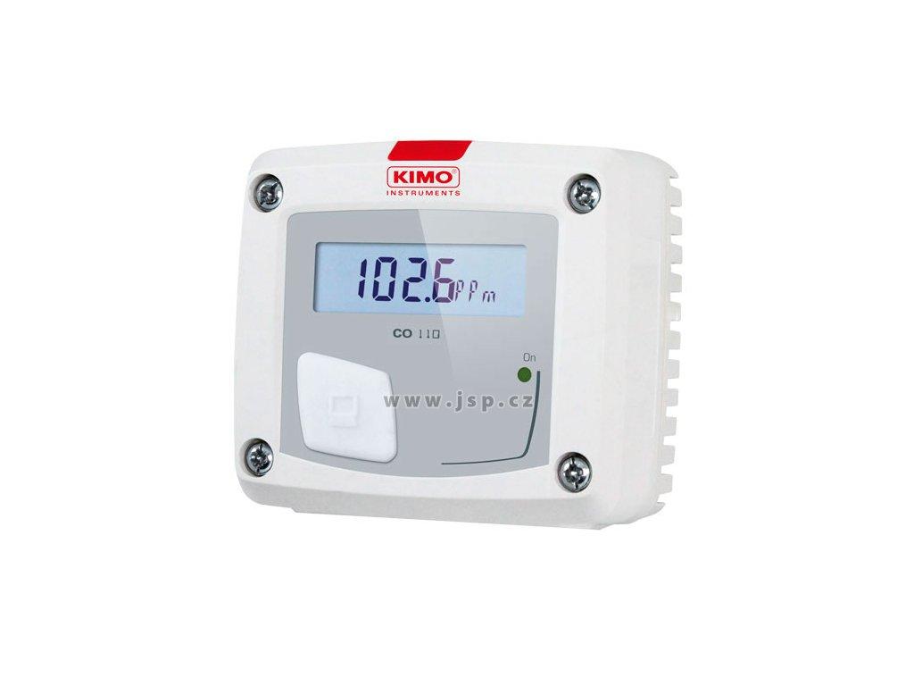 CO110-AOS Snímač oxidu uhelnatého - CO / 0-10V / LCD / prostorový