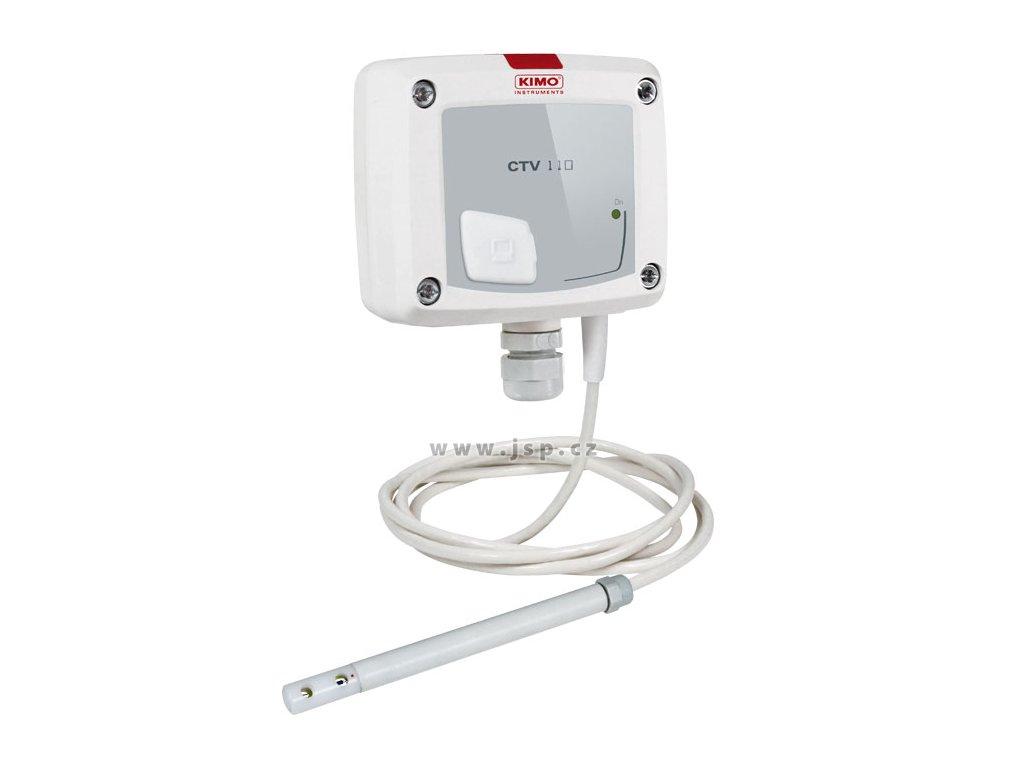 CTV110-AND150 – převodník proudění vzduchu a teploty se sondou