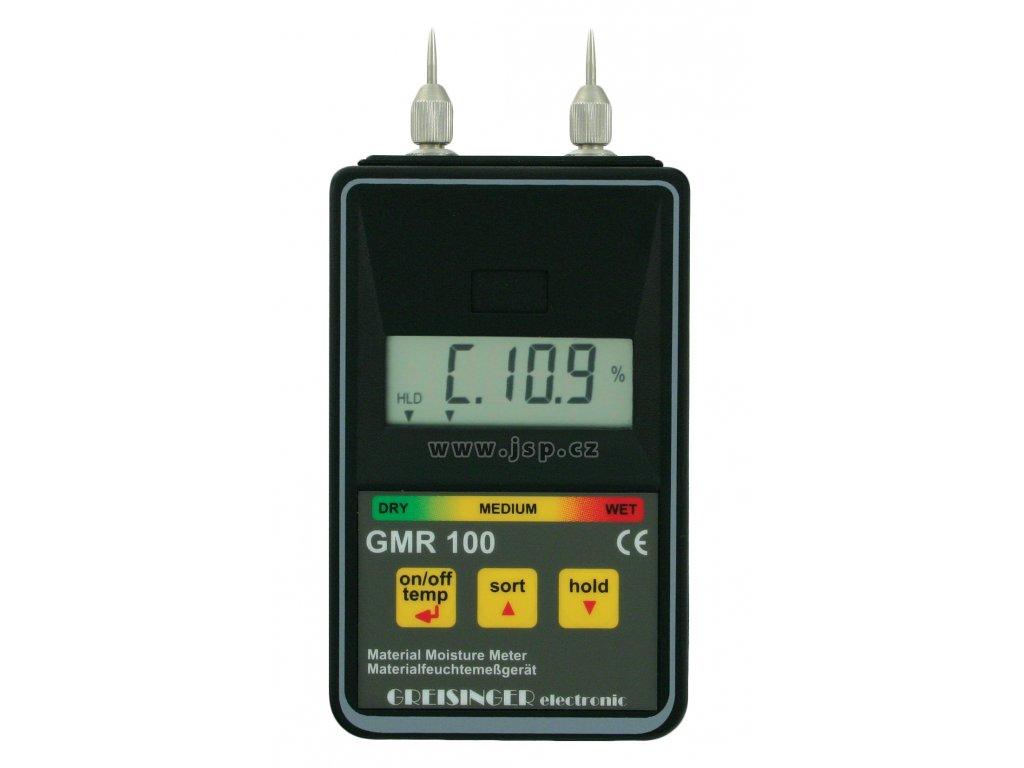 Greisinger GMR 110 Odporový měřič vlhkosti materiálů