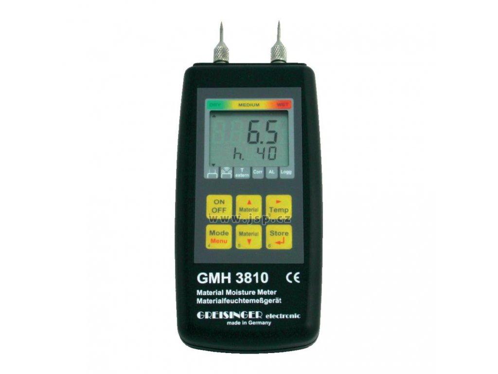 GMH 3810 Odporový měřič vlhkosti materiálů