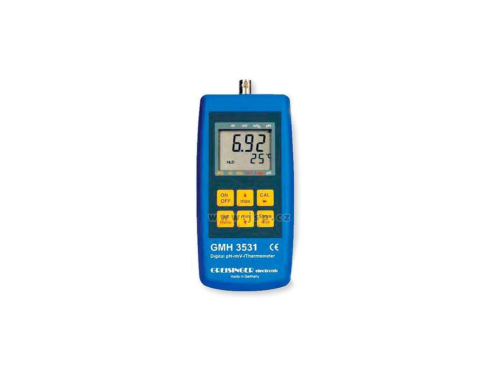 GMH 3531 měřicí přístroj pro pH / redox (ORP) / teplotu