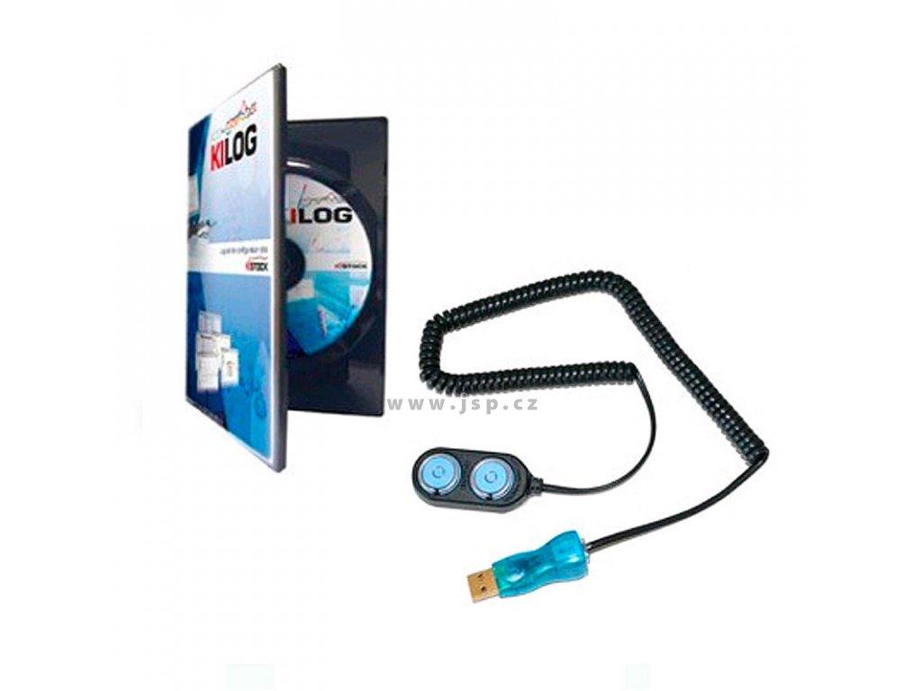 Kimo KIC12-N Sada (USB rozhraní + software KILOG) pro dataloggery KT-20