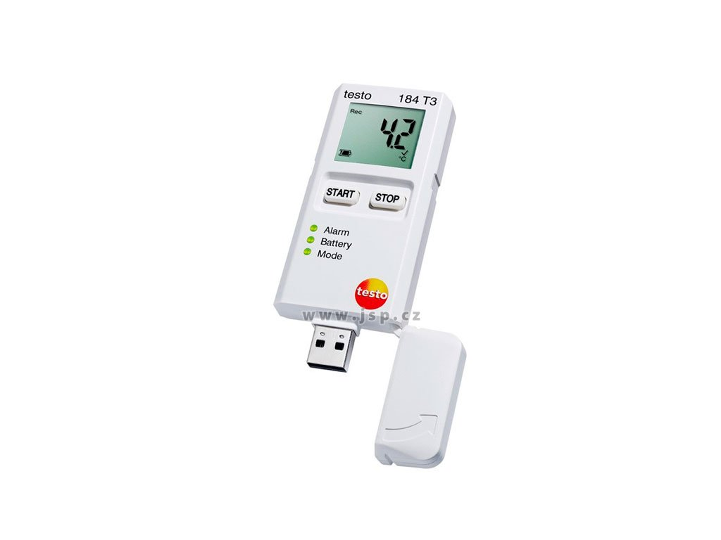 Testo 184 přístroj pro sledování a záznam teploty