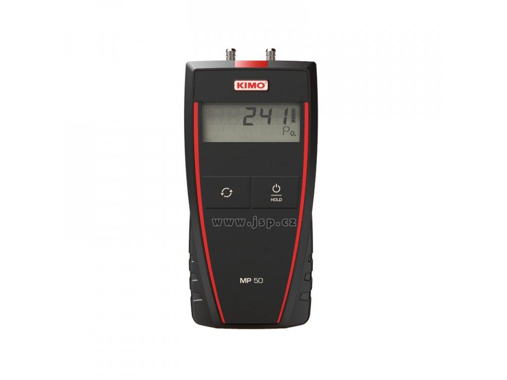 Kimo MP 50 Měřič nízkých tlaků (mikro-manometr)