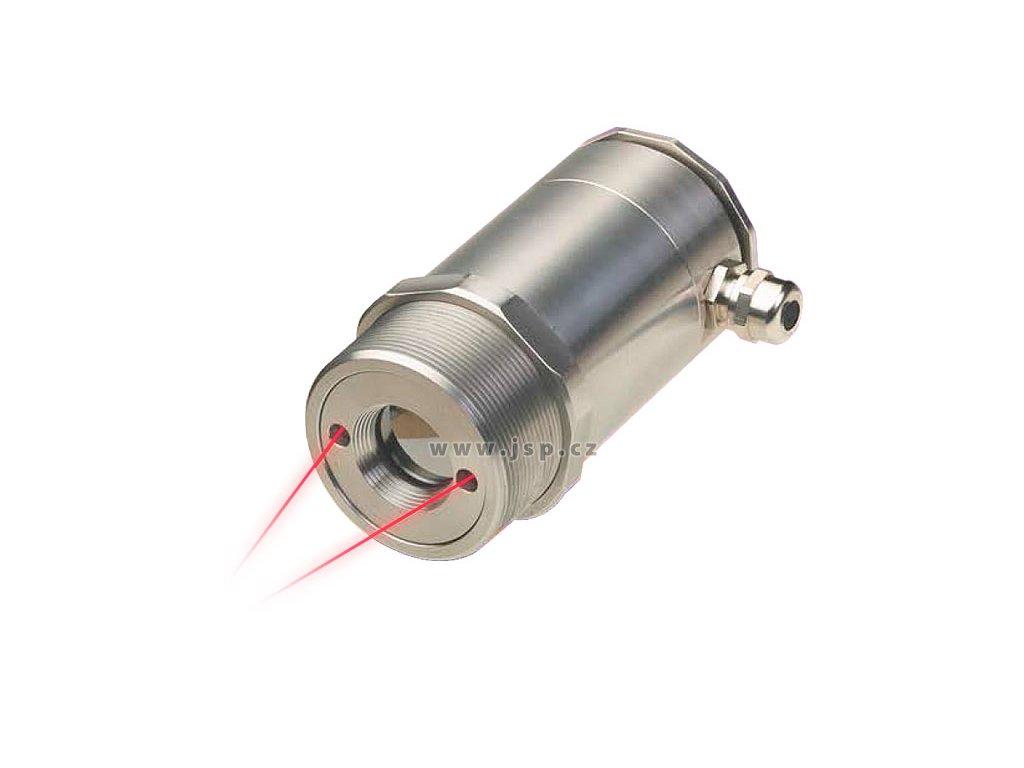 Bezkontaktní IR snímač teploty řady CS Laser se zabudovanou elektronikou
