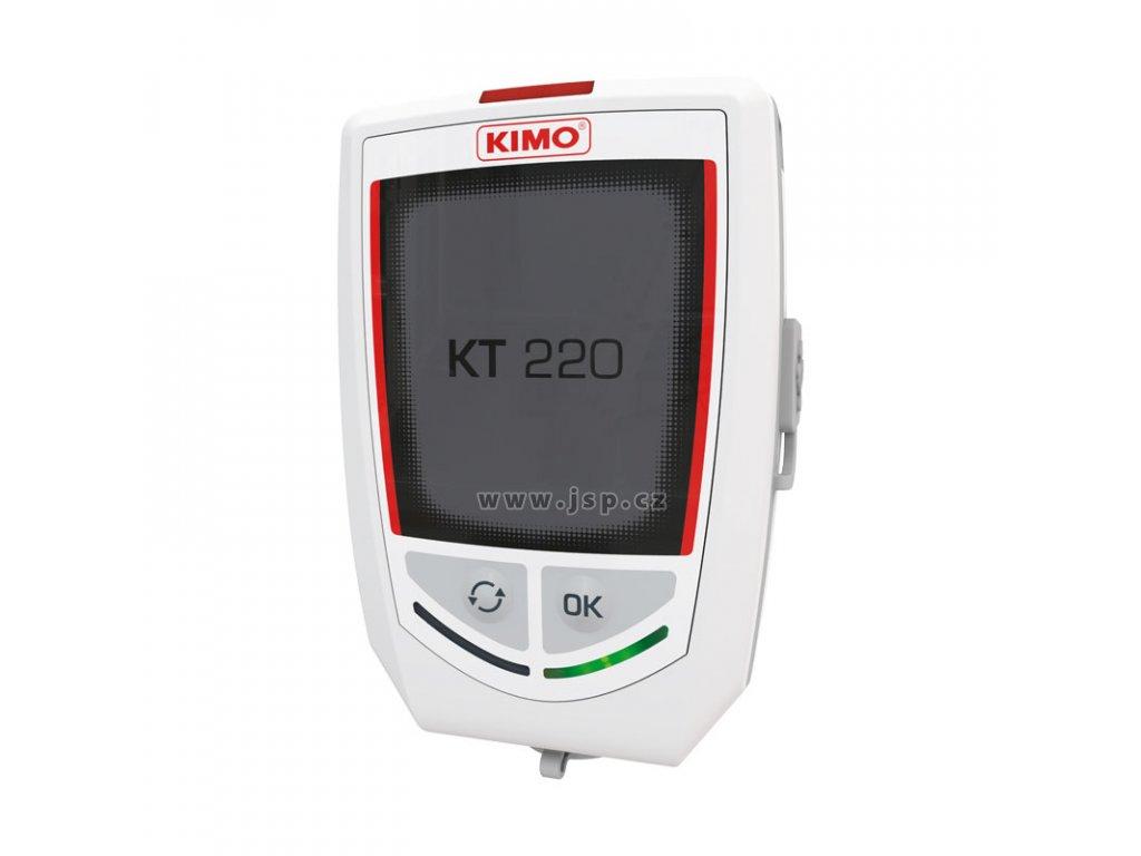 Kimo KT 220 Datalogger řady KISTOCK pro záznam teploty, vlhkosti, tlaku, proudu, napětí a impulsů