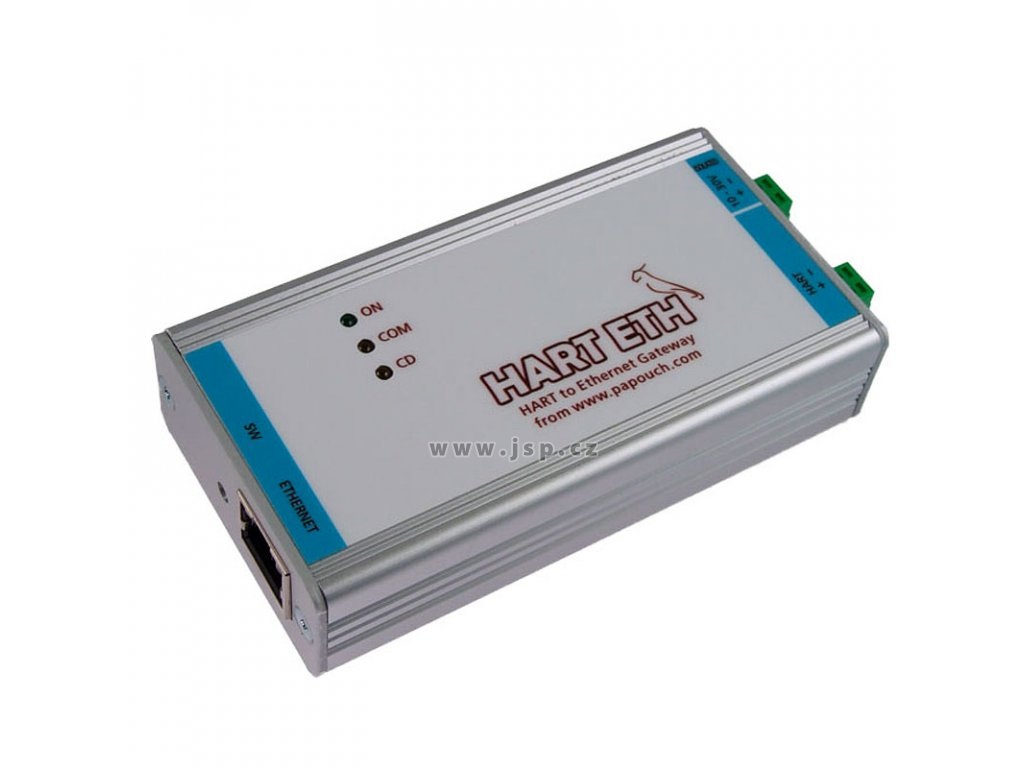 HART ETH - Převodník HART na Ethernet (MODBUS TCP)