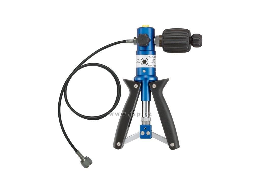 Pneumatická tlaková pumpa P40.2 OEM s tlakovou hadicí