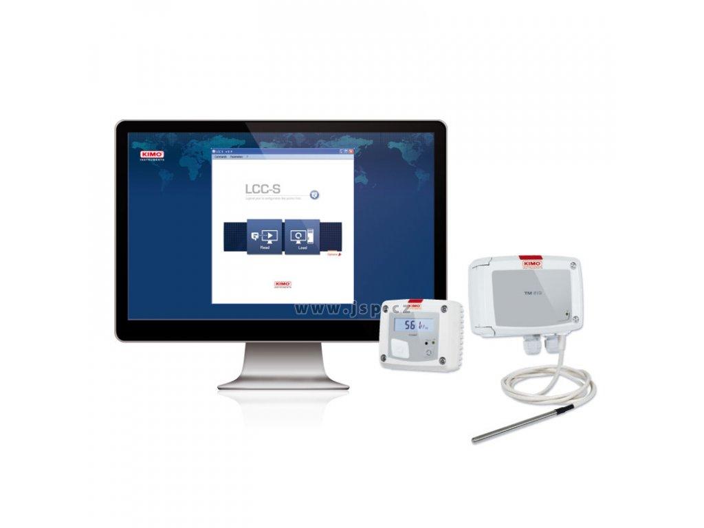 KIMO LCC-S Software pro nastavování převodníků řady 110, 210 a 310