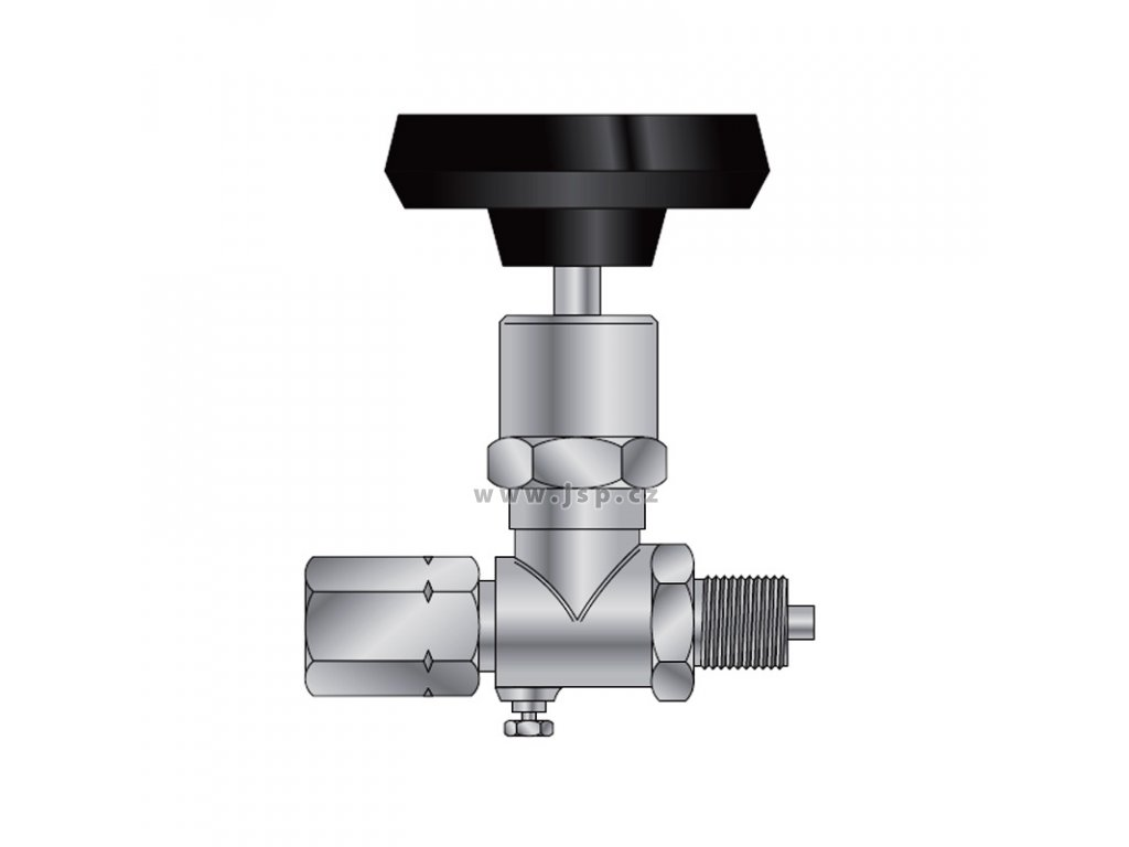 Ventil tlakoměrový uzavírací typ 1 110 410