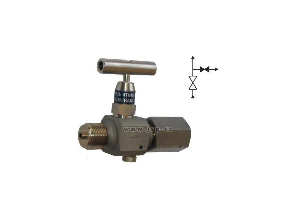 VS 100 Uzavírací ventil s odvzdušněním