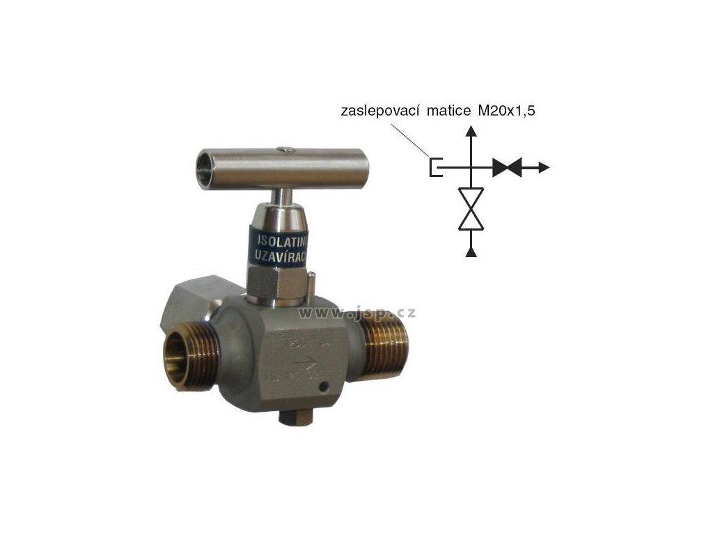 VS 120 Zkušební ventil s odvzdušněním
