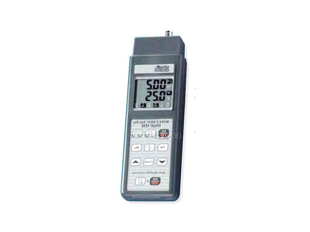 HD-9609 pH a mV simulátor