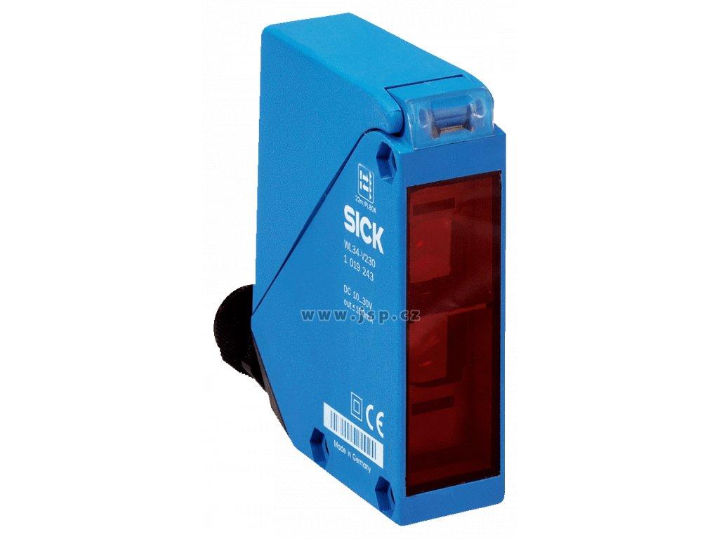SICK WL34-V230 Reflexní světelná závora, standadní optika