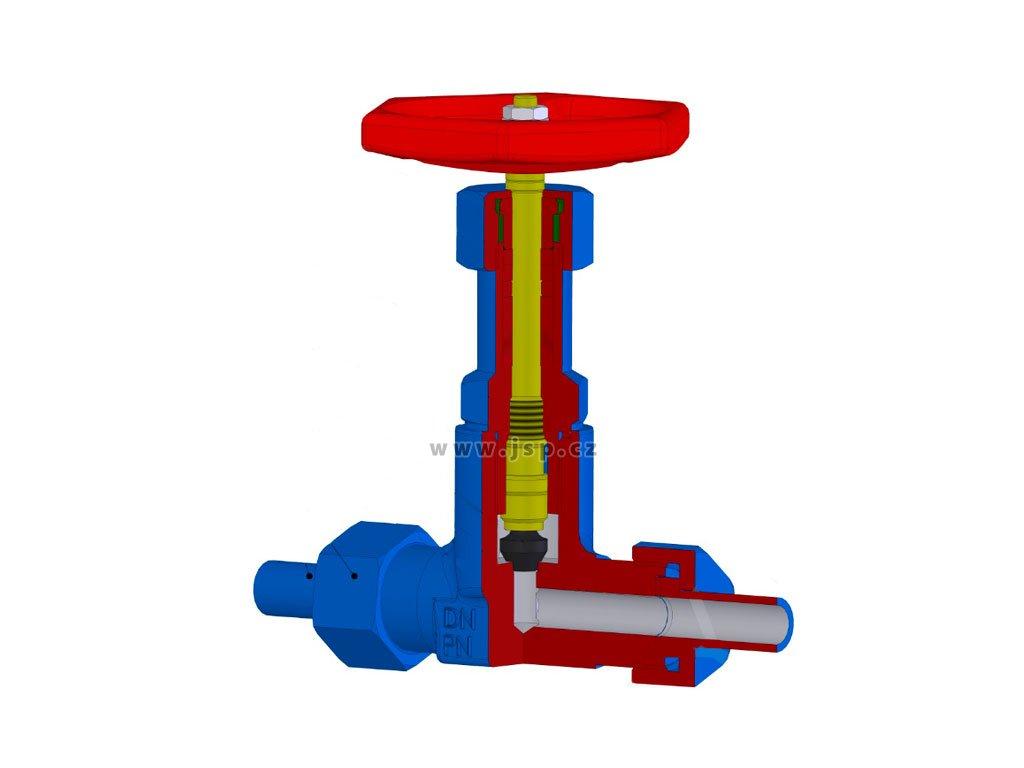 Uzavírací ventil V 10 151-4100 DN10