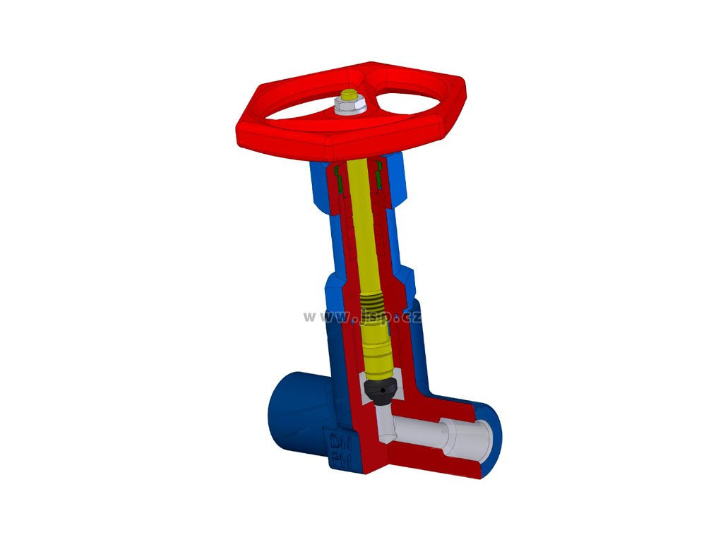 Uzavírací ventil V 10 131-4100 DN15