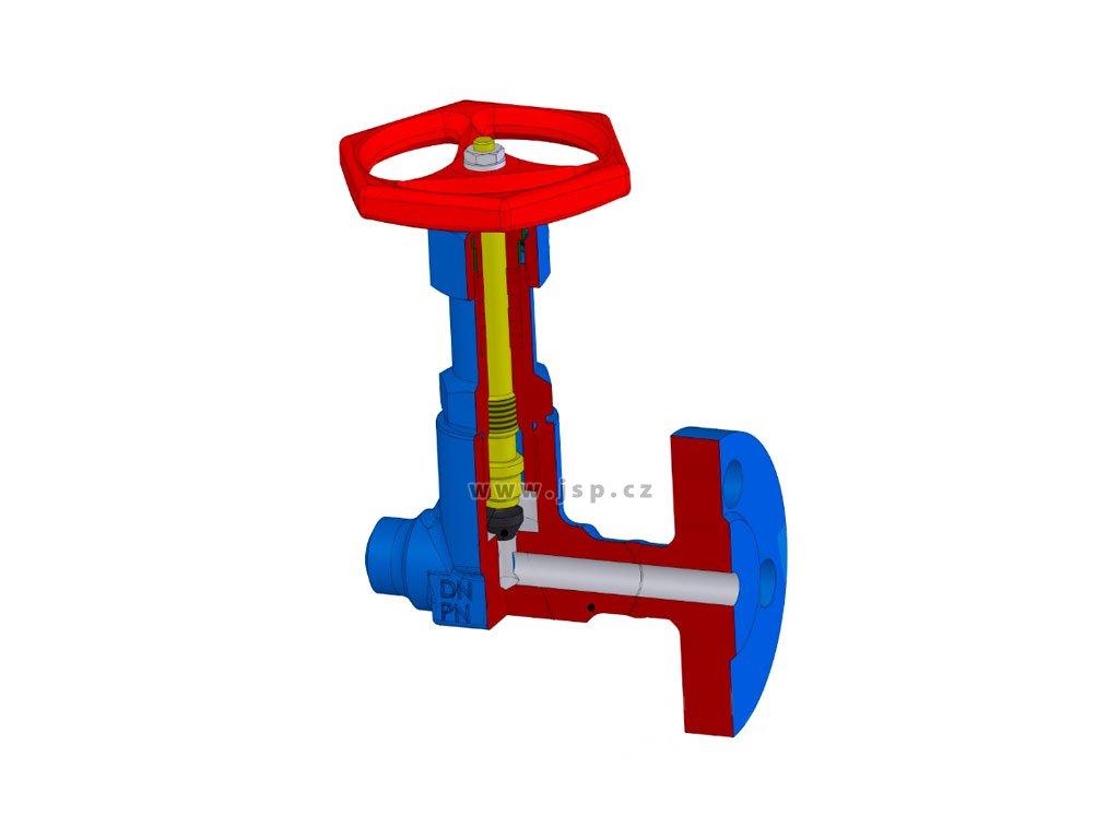 Uzavírací ventil V 10 181-4160 DN10