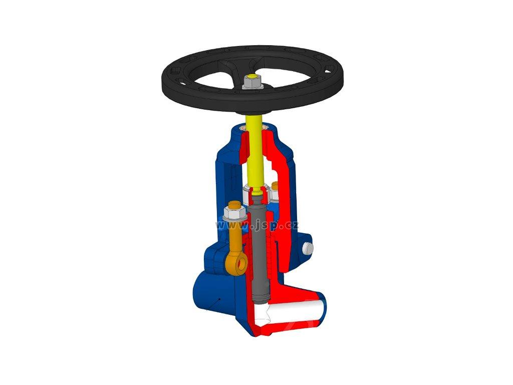 Uzavírací ventil V 46 121-3400 DN10