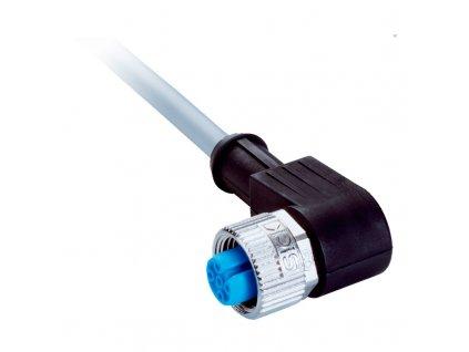 Připojovací kabel 5m úhlový M12(4pin) a volný konec
