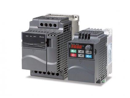 VFD037E43A Multifunkční frekvenční měnič s vektorovým řízením a PLC