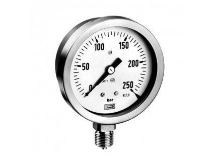 """Manometr MB801 se spodní přípojkou G1/2"""" / 100mm / 0 až 10 bar"""