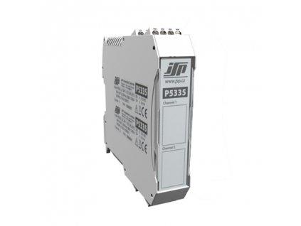 Dvoukanálový HART převodník P5335 na DIN (bez svorek)