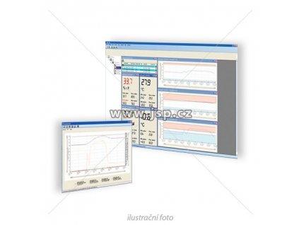 Greisinger EBS 20M – 20kanálový  software pro záznam, kontrolu a zobrazení dat