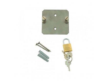 Greisinger GWH 40K Nástěnný držák se zámkem pro přístroje T-Logg