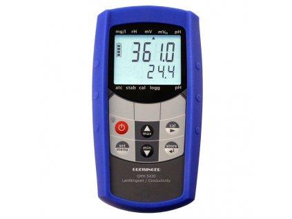 Greisinger GMH 5430 - vodotěsný měřič vodivosti pro externí elektrody