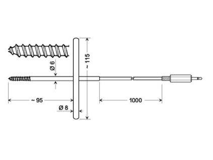 Greisinger GGF 175 Snímač pro měření zmraženého zboží