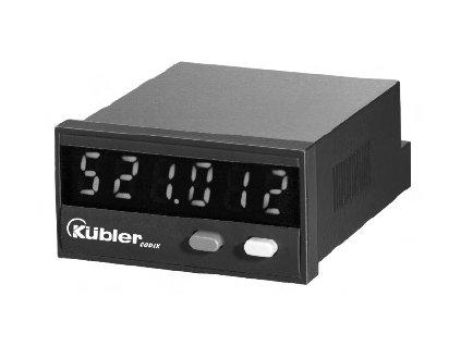 Kübler Codix 521 Elektronický čítač impulsů pro přičítání/odečítání