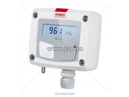 KIMO CP116-PO Převodník atmosférického tlaku s pasivním výstupem a displejem