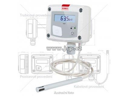 Regulátor vlhkosti / hygrostat KIMO HST-D kabelové provedení