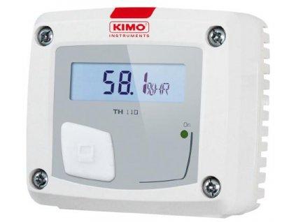 Převodník vlhkosti a teploty s displejem TH110-POS - prostorové provedení, 4-20 mA