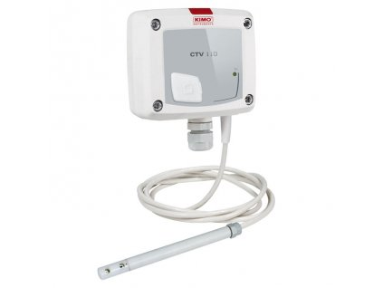 CTV110-VND150 – převodník proudění vzduchu a teploty se sondou