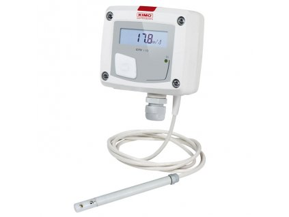 CTV110-VOD300 – převodník proudění vzduchu a teploty se sondou