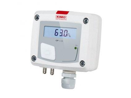 Kimo řada CP 110 Snímače diferenčního tlaku s el. výstupem a displejem