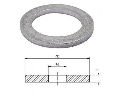 Těsnění pro manometrové šroubení (balení 100 ks)