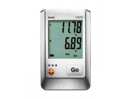 Testo 176 T2 2kanálový datalogger teploty pro externí sondy Pt100