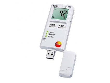 Testo 184 přístroj pro sledování a záznam teploty/vlhkosti/otřesů