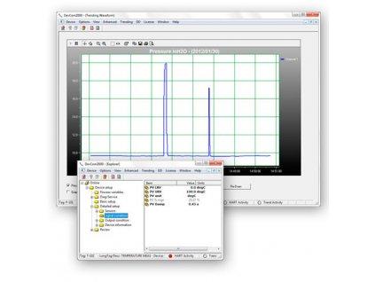 DevCom2000 Konfigurační PC software pro HART přístroje