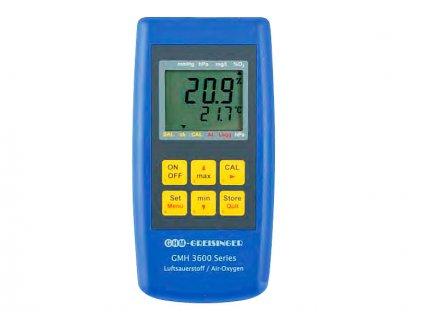 Greisinger GMH 3692 Měřicí přístroj koncentrace kyslíku ve vzduchu