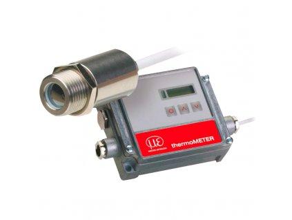 Bezkontaktní IR snímač teploty řady CT s oddělenou elektronikou