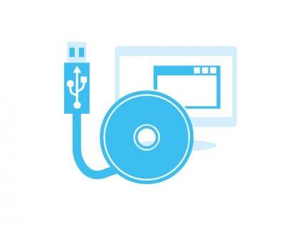 TM-USBK-CS Sada USB rozhraní pro IR snímače řady CS