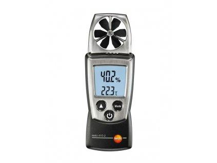 Testo 410 Kapesní anemometr s měřením teploty a vlhkosti