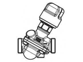 DANFOSS AB-QM (DN10) Tlakově nezávislý vyvažovací a regulační ventil
