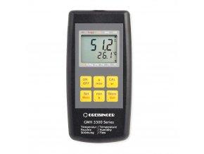 Greisinger GMH 3330 Digitální přístroj pro měření vlhkosti vzduchu, teploty a proudění